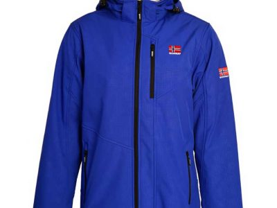 Unisex Soft shell jacket, Blue