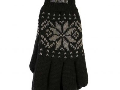 Snowflake Glove, Black